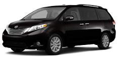 Black Mini Van